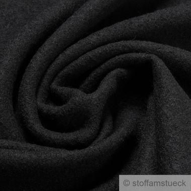 Wolle Gewirk schwarz