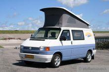 Faltenbalg grau VW T4 1991 - 1996 Westfalia 3 Fenster