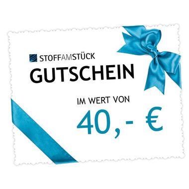 Gutschein 40 EUR