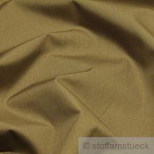 Polyester / Baumwolle Popeline braun