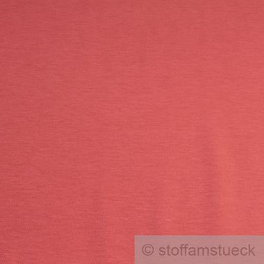 Korall Farbe baumwolle interlock jersey koralle farbe farbe rot