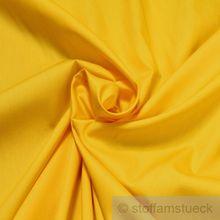 Baumwolle Popeline gelb