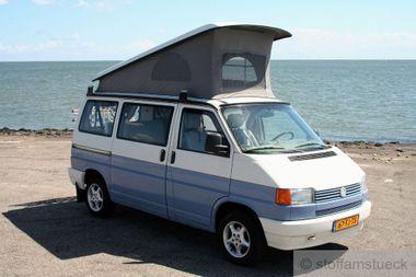 Faltenbalg grau VW T4 1991 - 1996 Westfalia 3 Fenster EXTRA LANGER BALG