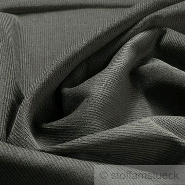 Baumwolle Cord grau