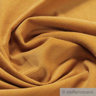 Baumwolle Cord safran