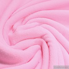 Polyester Wellness Fleece rosa