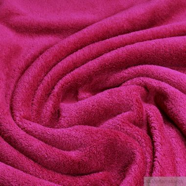 Polyester Wellness Fleece himbeere