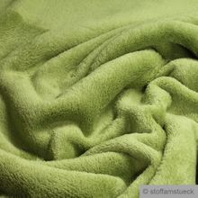 Polyester Wellness Fleece grün