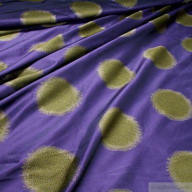Trevira® CS Taft lila Kreis breit
