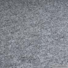 Polyester Filz hellgrau meliert 4 mm