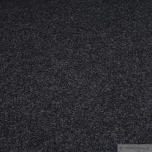 Polyester Filz dunkelgrau meliert 4 mm
