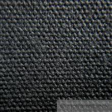 Baumwolle Zeltstoff schwarz leicht