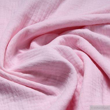 Baumwolle Musselin rosa