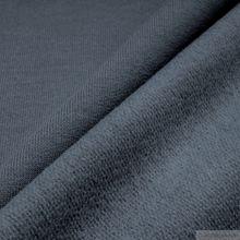 Baumwolle Single Jersey grau angeraut