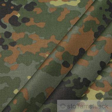 Baumwolle / Polyester Kreuzköper Flecktarn Deutschland
