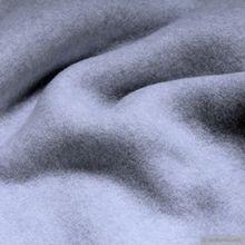 Bio-Baumwolle Fleece hellblau