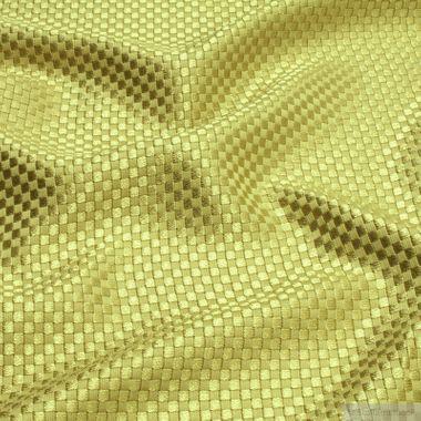 Viskose / Baumwolle Panama limette glänzend