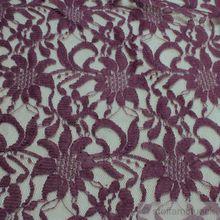 Polyamid / Polyester / Elastan Spitze violett Blume