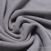 Baumwolle Fleece grau