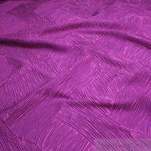 Polyester Falten Kleidertaft Welle lila violett