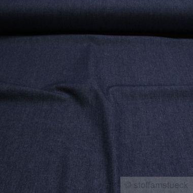 Baumwolle Köper Jeans dunkelblau