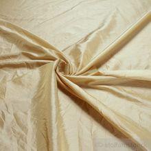 Polyester Crash Kleidertaft vanille