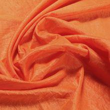 Polyester Crash Kleidertaft orange