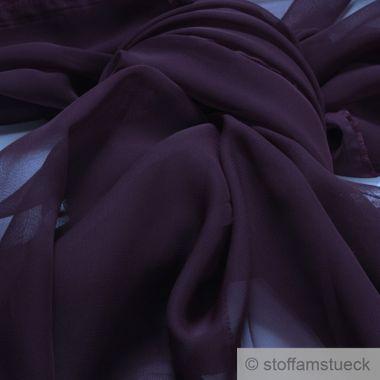 Polyester Chiffon violett