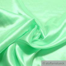 Polyester Satin hellgrün leicht