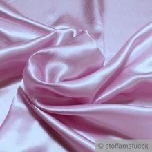 Polyester Satin rosa leicht