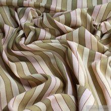 Baumwolle Batist Streifen grün
