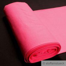 0,5 Meter Baumwolle Elastan Bündchen pink