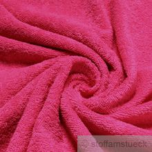 Baumwolle Frottee pink