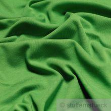 Baumwolle Interlock Jersey grün
