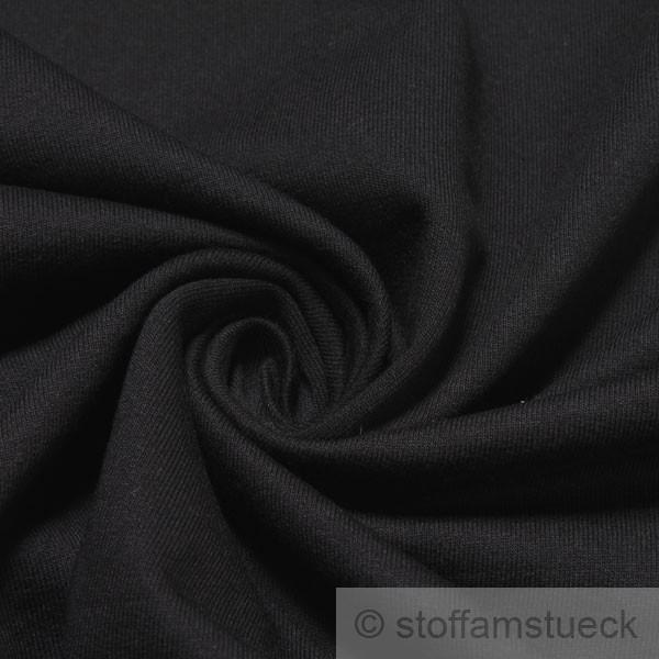 baumwolle single jersey schwarz angeraut farbe farbe schwarz. Black Bedroom Furniture Sets. Home Design Ideas