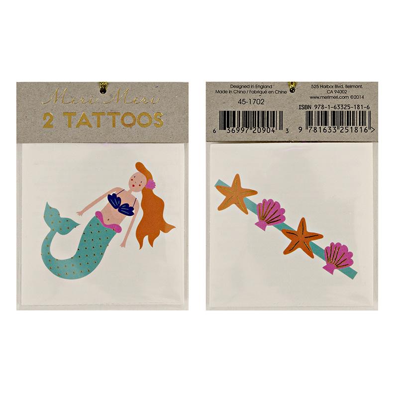 Meerjungfrauen Tattoos