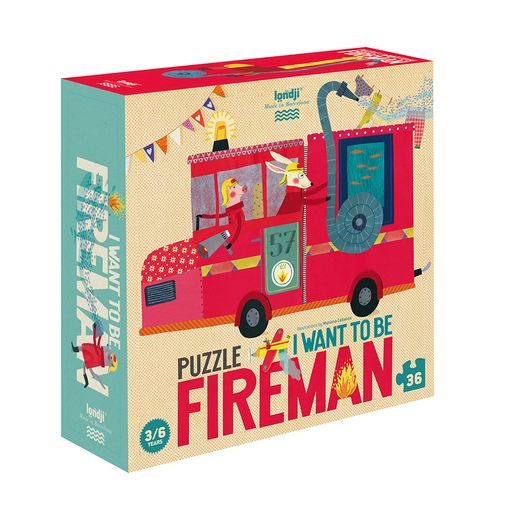 I want to be Fireman Puzzle