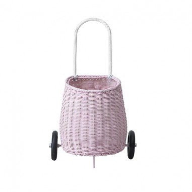 Luggy Basket in Rosa