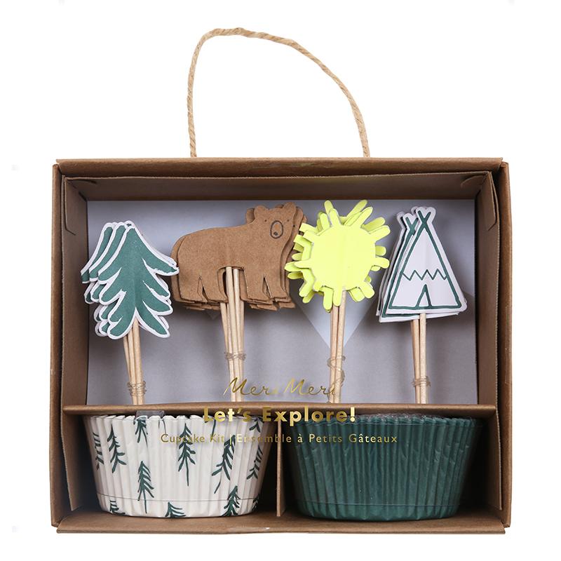 Cupcake-Set Let's explore