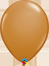 Luftballon 28cm in Mocha