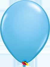 Luftballon 28cm in Blau