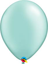 Luftballon 28cm in Pearl Mint Green