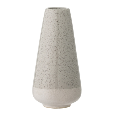 Retro-Vase in Grau