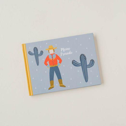 Freundebuch Jungen Kindergarten
