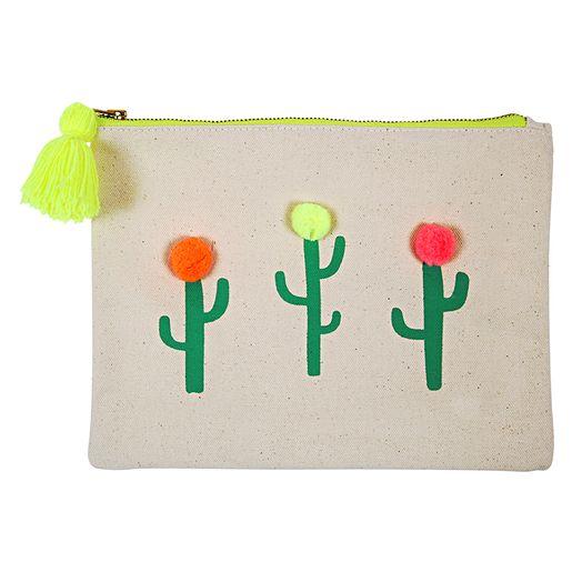 Großer Beutel Pom Pom Kaktus