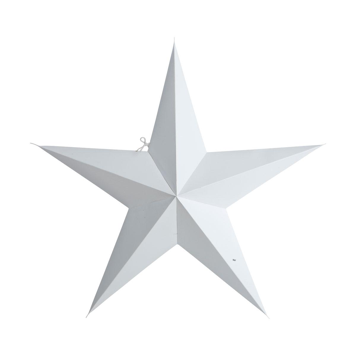 Stern weiß, 60cm