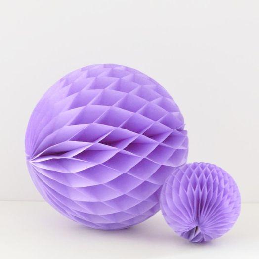 Wabenball in Lavendel