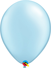 Luftballon 28cm in Pearl Light Blue