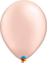 Luftballon 28cm in Pearl Peach