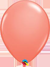 Luftballon 28cm in Koralle